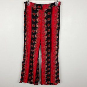 Urban Outfitters Floral Printed Kick Flare Pants 2